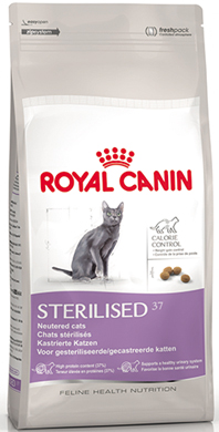 royal canin k s rla t r lm kedi mamas sterilised 37 15 kg. Black Bedroom Furniture Sets. Home Design Ideas