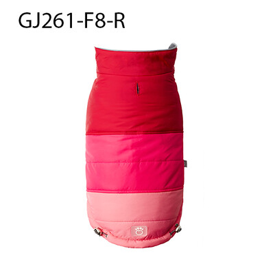 Gf Pet - Gf Pet-Blackcomb Puffer-Dk Red-2Xs